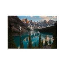 lake moraine Rectangle Magnet