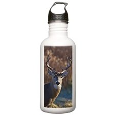 Whitetail Deer buck Water Bottle