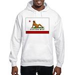 Mud Flap Bear Flag Hooded Sweatshirt