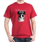 Boxer Happy Face T-Shirt