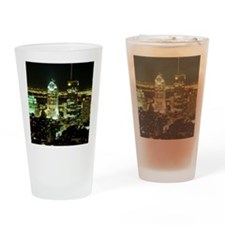 Montreal skyline at night, Canada Drinking Glass