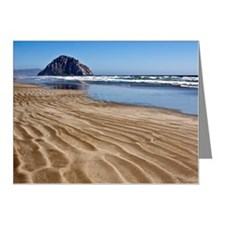 Sand ripples on beach Note Cards (Pk of 20)