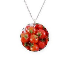 Studio shot of tomatoes Necklace