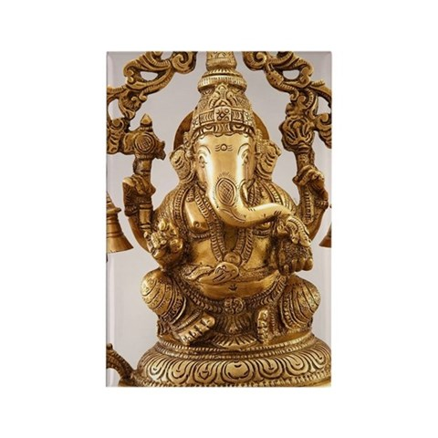 Statue of Lord Ganesh Rectangle Magnet
