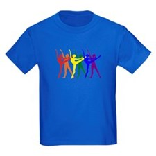 Kids Dancers Dark Blue T-Shirt