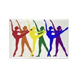 Dancers Magnets (10 pack)