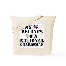 My Heart Belongs to Guardsman Tote Bag