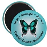 "Ovarian Cancer Awareness 2.25"" Magnet (10 pack)"