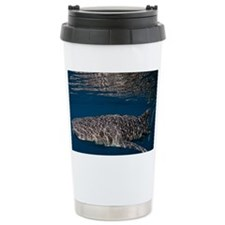 Reflective whaleshark Travel Mug