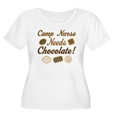 Camp Nurse Chocolate Gift T-Shirt