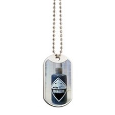 Corrosive liquid Dog Tags