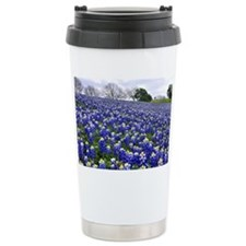Bluebonnet fields Travel Mug