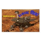 Mars Rover Decal