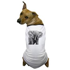 Baby African Elephant Pillow Case Dog T-Shirt