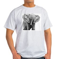 Baby African Elephant Pillow Case T-Shirt
