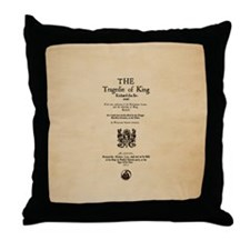 Folio-KingRichardII Throw Pillow