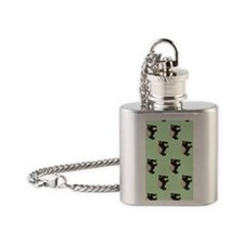 Honey Badger Flask Necklace