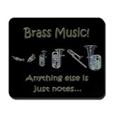 Brass.. anything.. Mousepad (black)