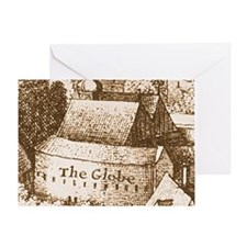 globetheatre2 Greeting Card