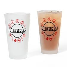 prepper Drinking Glass