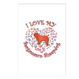 Love Bergamasco Postcards (Package of 8)