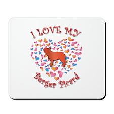 Love Berger Mousepad