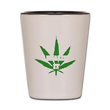 Legalize Marijuana Shot Glass