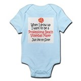 WIGU Pro Beach Volleyball Sister Infant Bodysuit