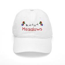 Meadows, Christmas Baseball Cap
