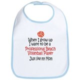 WIGU Pro Beach Volleyball Mom Bib