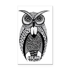 Hoot Owl Rectangle Car Magnet