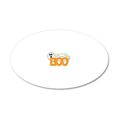 Baby's First 20x12 Oval Wall Decal