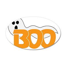 Boo 35x21 Oval Wall Decal