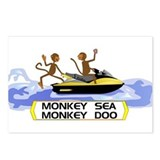 MonkeySea MonkeyDoo Postcards (Package of 8)
