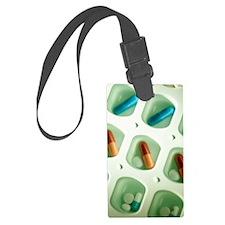 Pill organiser Luggage Tag