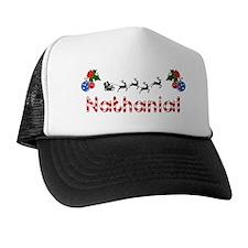 Nathanial, Christmas Trucker Hat