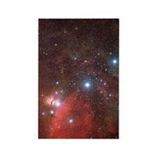 Orion's Belt Rectangle Magnet