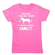 Belgian Laekenois Dog Breed Designs Girl's Tee