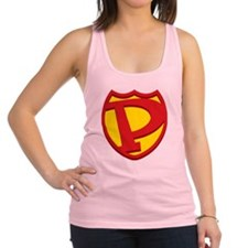 SuperPapa Sheild Only Racerback Tank Top