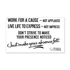 2x3 Magnet Transparent - Work for Wall Decal