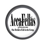 Accafellas Wall Clock