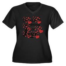 Meatloaf Und Women's Plus Size Dark V-Neck T-Shirt