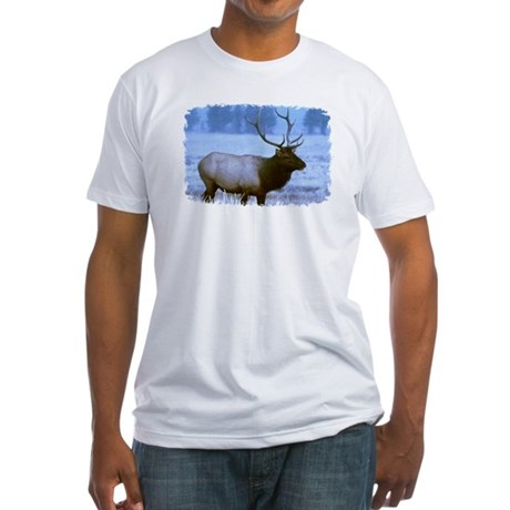 Bull Elk Fitted T-Shirt