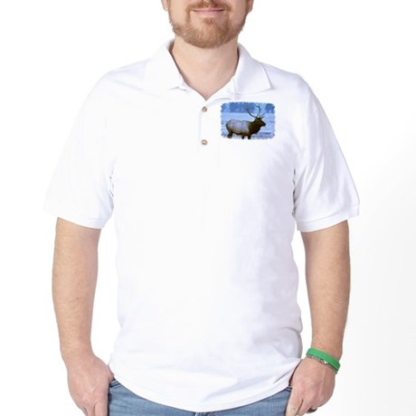 Bull Elk Golf Shirt