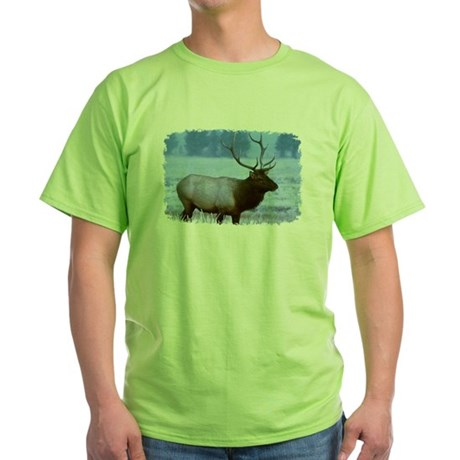 Bull Elk Green T-Shirt