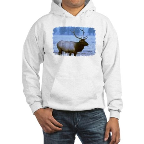 Bull Elk Hooded Sweatshirt