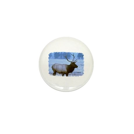 Bull Elk Mini Button (10 pack)