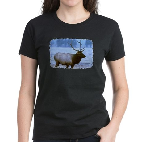 Bull Elk Women's Dark T-Shirt