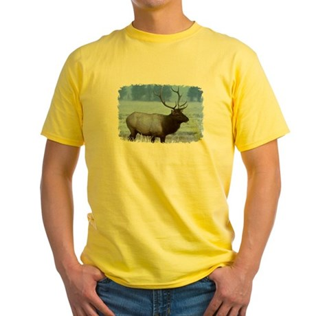 Bull Elk Yellow T-Shirt