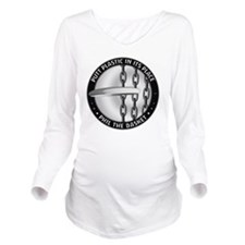 Phil The Basket Long Sleeve Maternity T-Shirt